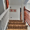 Poner suelo escaleras de resina