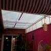 Arreglar goteras de techado en patio