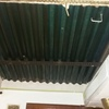 Pintar unos 7 metros cuadrados con pintura impermeabilizante una tejadillo y poner unos 6 metros cuadradod de techo desmontable