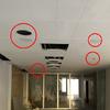 Arreglo agujeros techo pladur