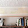 Alisar techo antiguo con relieve