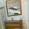 Instalar 2 lavabos son 2 baños
