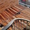 Pergola de aluminio y cristal en terraza de piso