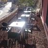 Aplicar hormigón impreso a terraza