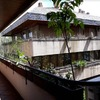 Cerramiento cortina de cristal en terraza