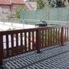 Solar una terraza con pavimento continuo o composite