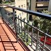 Pintar terraza (barandillas, techo y paredes)