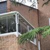 Cerramiento de terraza (piso) con cortina de cristal