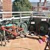 Instalación de red de protección para gatos en terraza