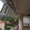 Cerramiento de terraza con cortinas de cristal