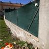 Cambiar valla simple torsión y subir muro