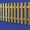 Instalacion de valla de madera