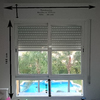 Cambiar ventanas de aluminio por ventanas de pvc con persianas