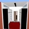 Subministro 2 ventanas aluminio abatibles motorizadas 200x40