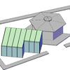 Estructura y cerramiento de pégola