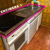 Instalar encimera de cocina y hacer encastrado