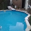 Construccion piscina cubierta climatizada retirando la actual desmontable