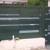 Pintar puerta garaje metálica exterior