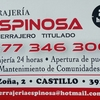 Cerrajeria Espinosa