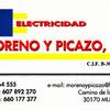 Electricidad Moreno Y Picazo S.l