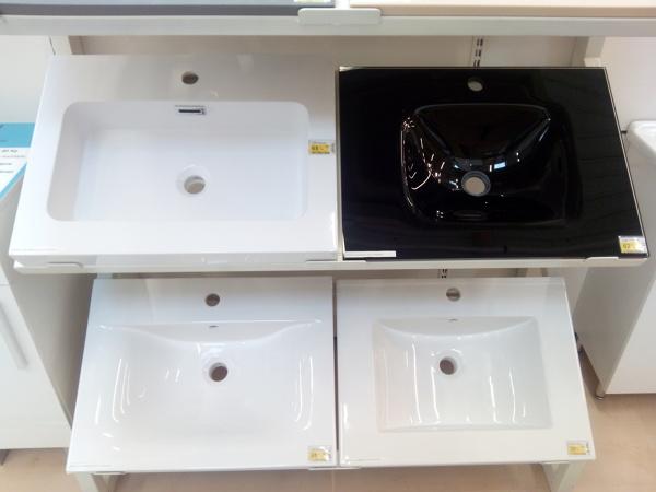 Foto microcemento sobre encimera de lavabo de area 3 for Lavabo le roy merlin